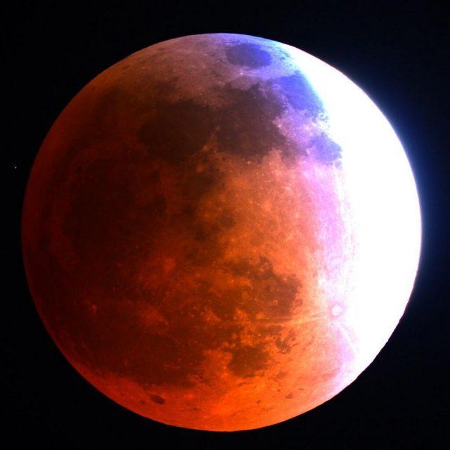 Las mejores fotos de la Luna de Sangre 2018