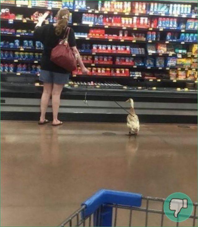 Las 11 fotos mas raras de gente en un supermercado (segunda parte)