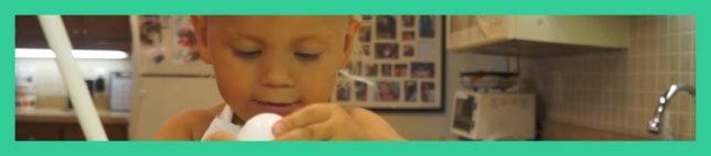 Vídeo de niño cocinando se vuelve viral